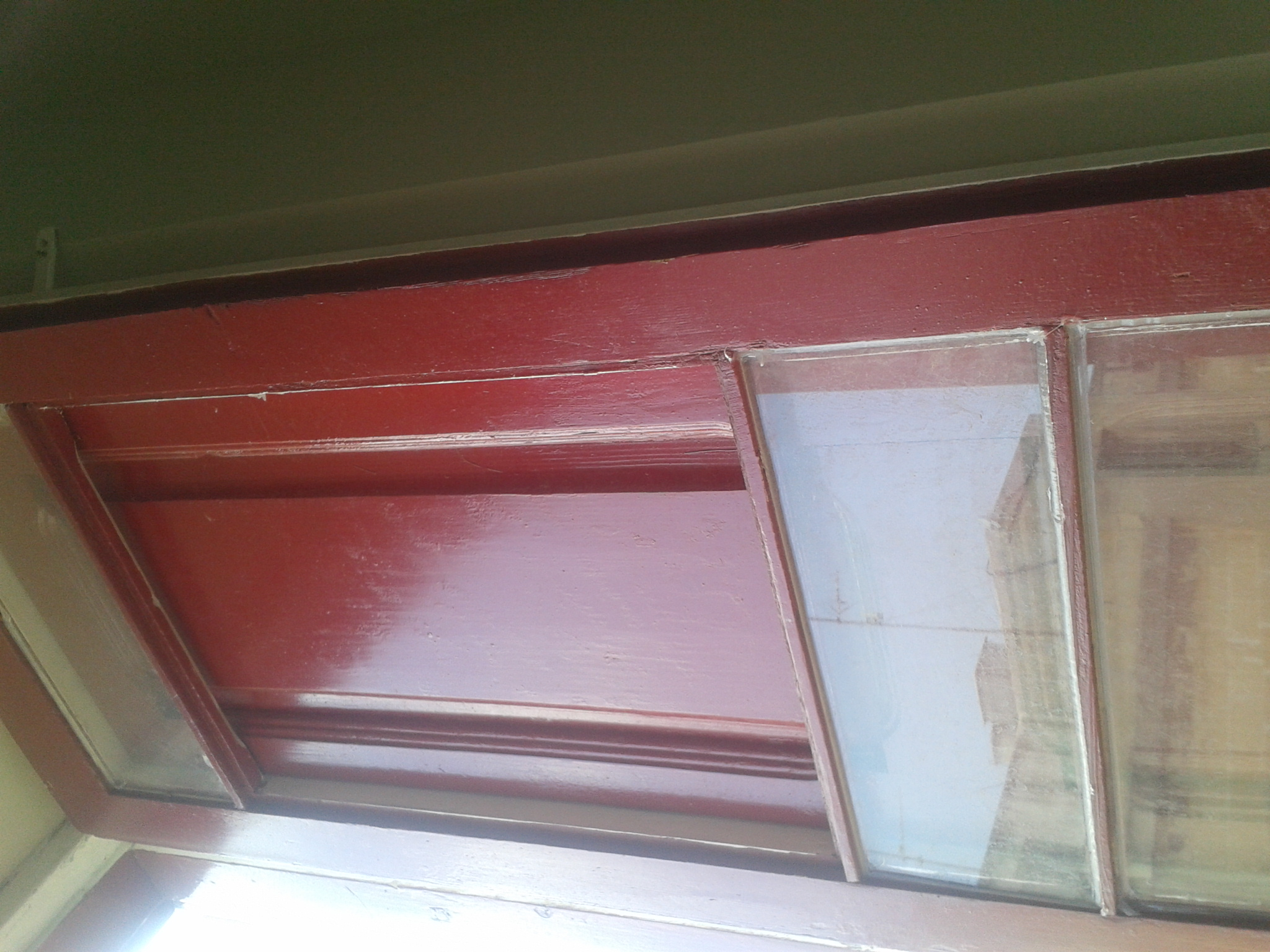 Another tip for fresh air! Just leave out out some glass panes :) cheap...